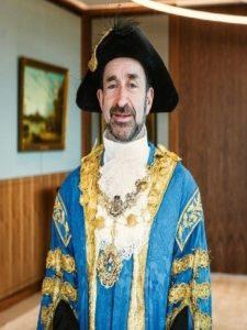 Councillor Jonathan Glanz, Lord Mayor of Westminster